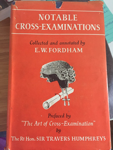 Notable Cross-Examinations