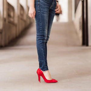 The Scarlett Pumps - Red