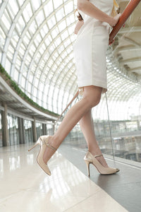The Charlotte Pumps - Beige