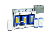 "3 Stage 10"" Big Blue Whole House System - Aqua Max Water Filters"