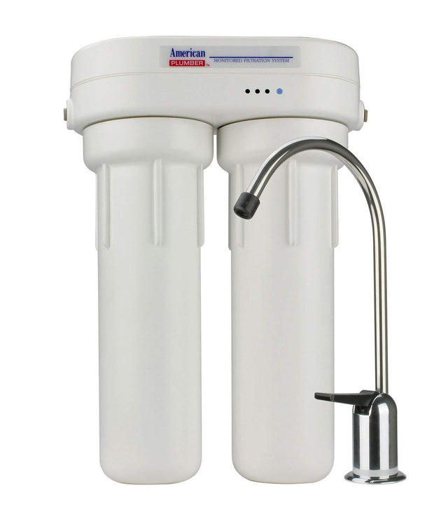 American Plumber WLCS-1000 Under-Sink Water Filter System
