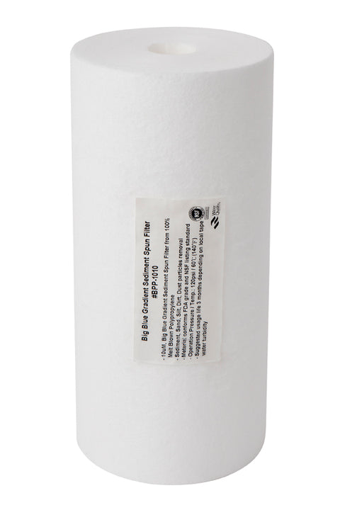 "10"" x 4.5 - 10uM Sediment Filter Cartridge - Aqua Max Water Filters"