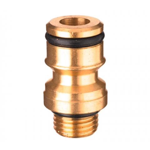6mm ¼ BSP x 12mm Brass Adaptor
