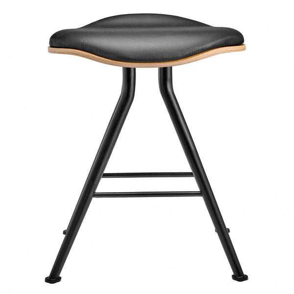 Barfly stool upholstered