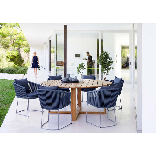 Moments outdoor dining chair