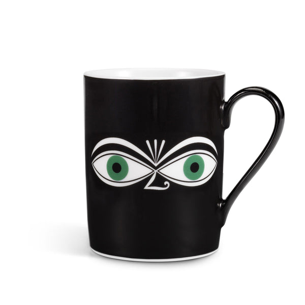 Girard Eyes coffee mug, green