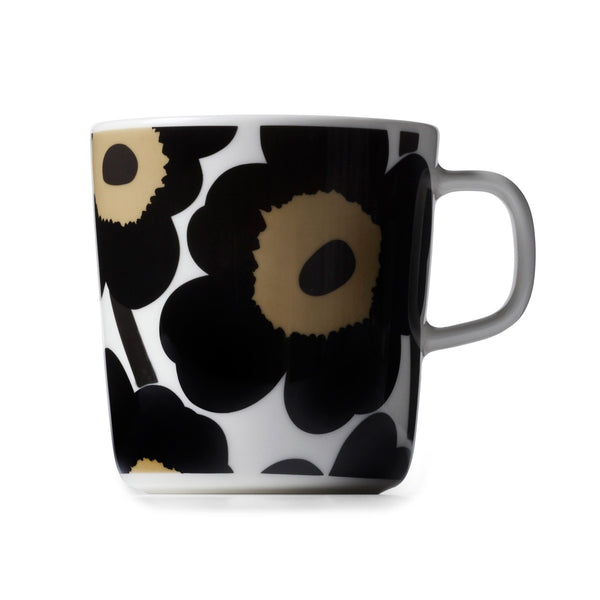 Unikko large mug 0.4L, Black