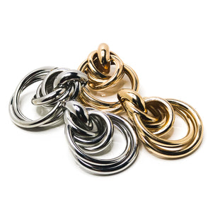 Twisted Loops Earrings