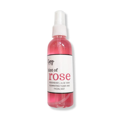 Clay Rose water infused illuminating facial mist