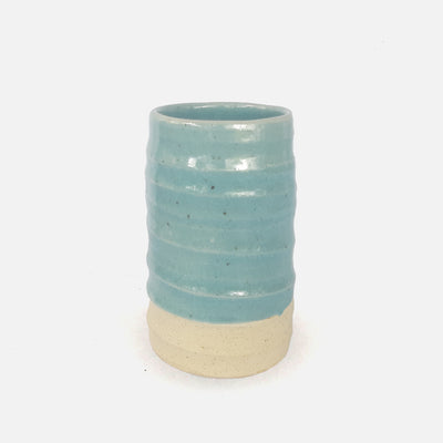 Hatton Bud Vase Sea Blue Medium