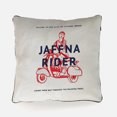 City Graphics Jaffna Rider Cushion Cover