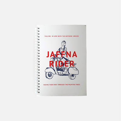 City Graphics Jaffna Rider Notebook