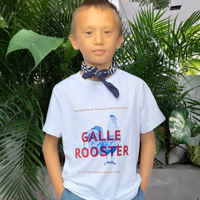 Galle Rooster Kids' T shirt