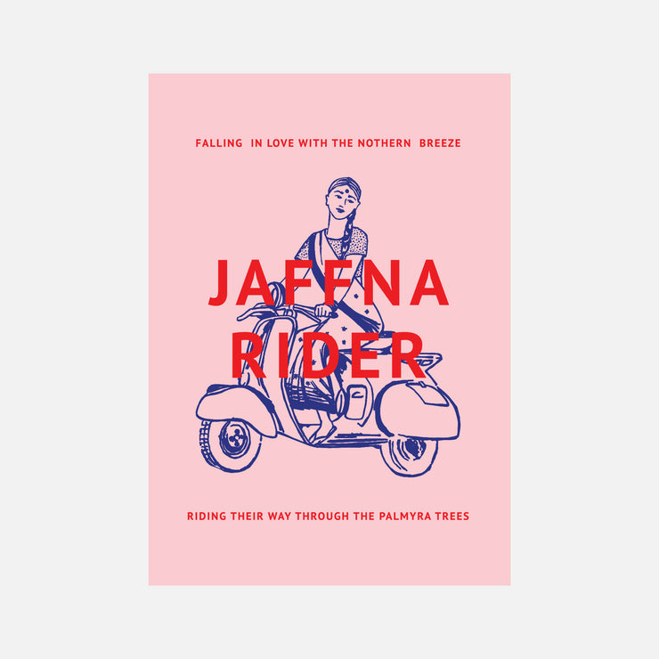 City Graphics Jaffna Rider Poster