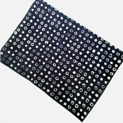 Dot Batik Placemat/ Navy