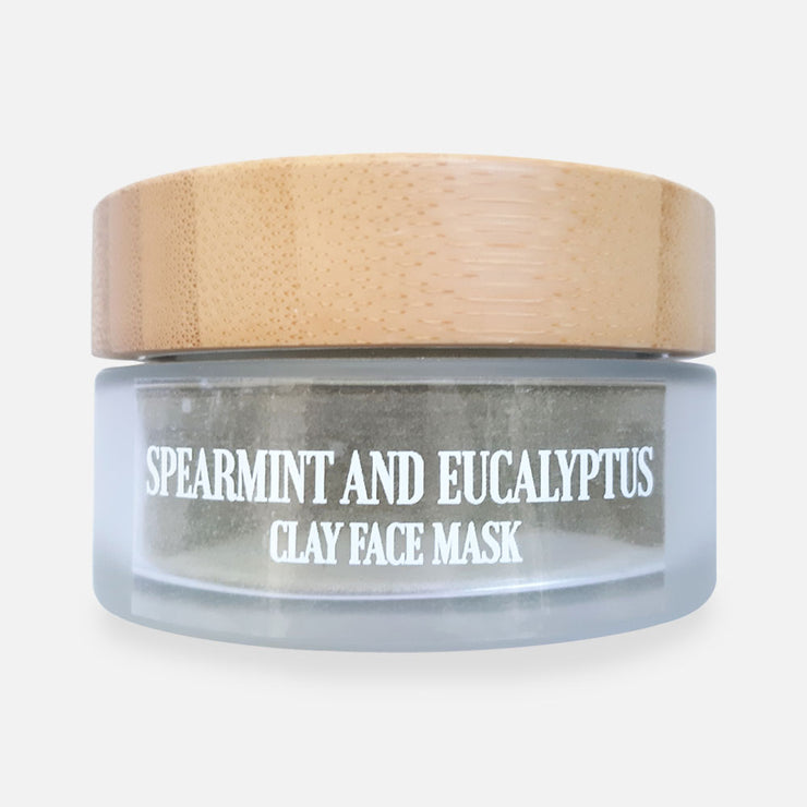 SPEARMINT AND EUCALYPTUS CLAY FACE MASK