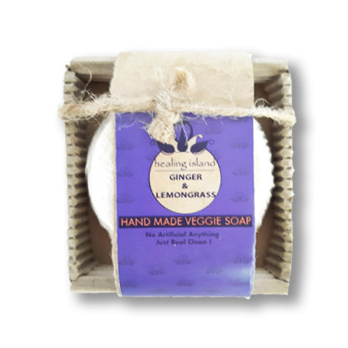 SOAP - 70G -GINGER & LEMONGRASS