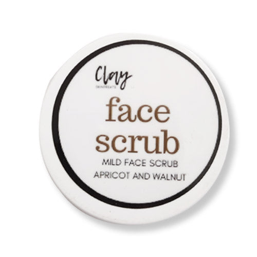 Clay Face scrub