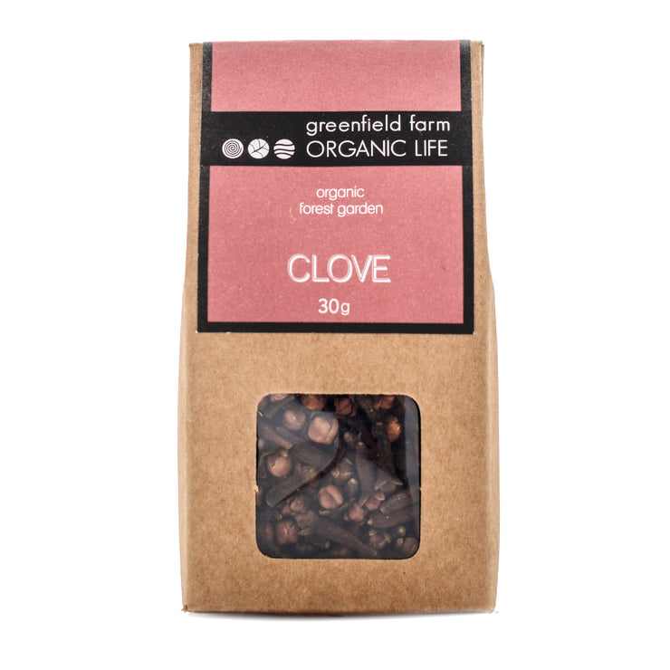 Greenfield Clove - Whole Kraft bag 30g