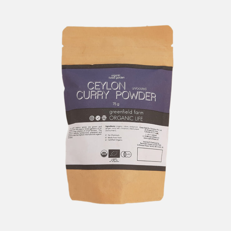 Greenfield Curry Powder-Kraft pouch 75g