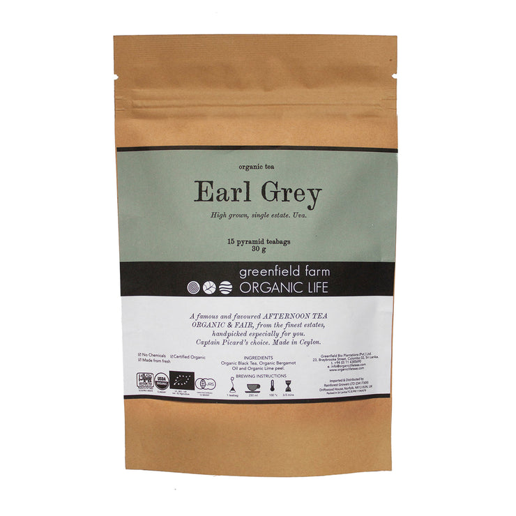 Greenfield Black Tea Earl Grey FBOP 15PTB KPP