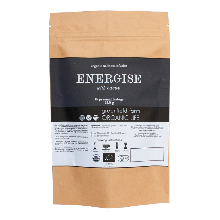 Greenfield Energise with Cacao Tea 15PTB KPP
