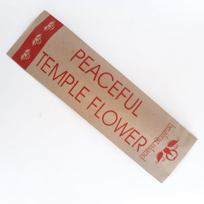 INCENSE STICKS -TEMPLE FLOWER