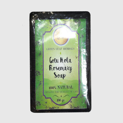 Green Feel Herbals Gotukola Rosmary Soap