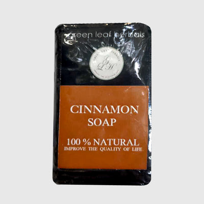 GREEN LEAF HERBALS 100GR Cinnamon Soap
