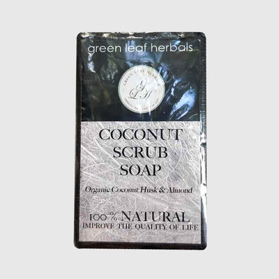 Green Leaf Herbals Coconut Scrub  Soap