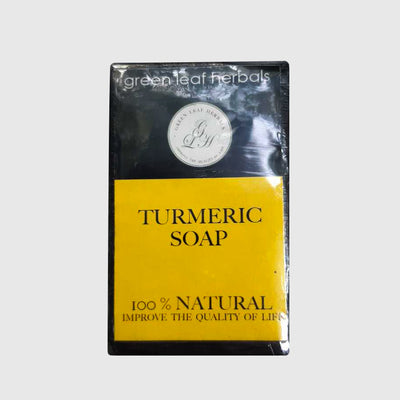 GREEN LEAF HERBALS 100GR Turmeric Soap