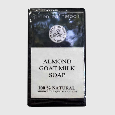 Green Leaf Herbals Almond & Goat Milk Soap