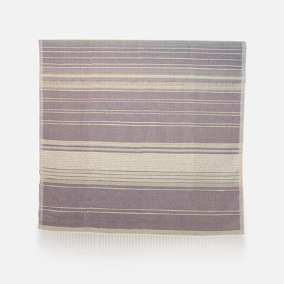 Handloom Throw Mal Kadulla Violet