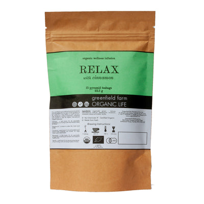 Greenfield Relaxing Tea with Cinnamon 15PTB KPP