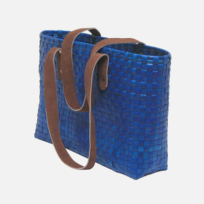 Palmyra Pedro Beach Bag Blue