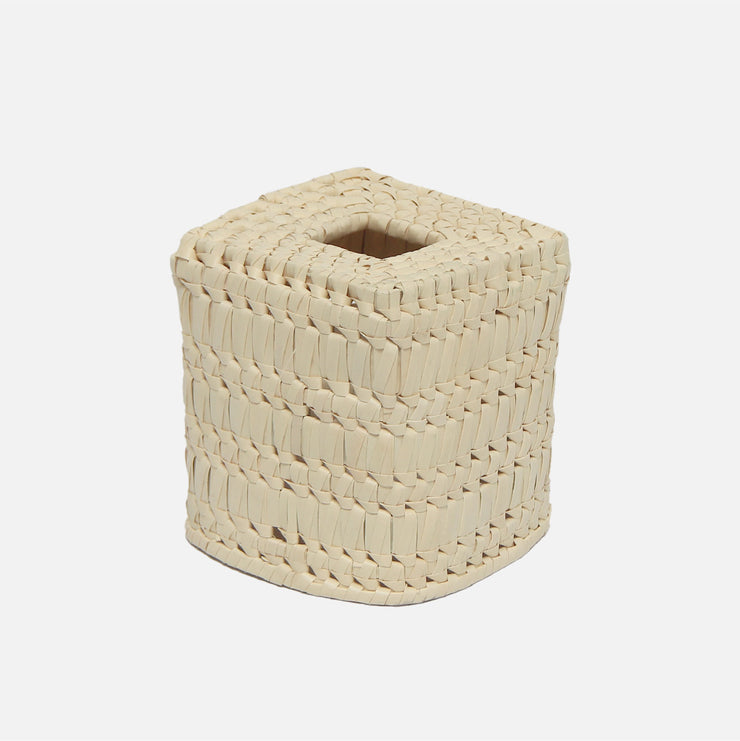 Tissue Box - Square Natural