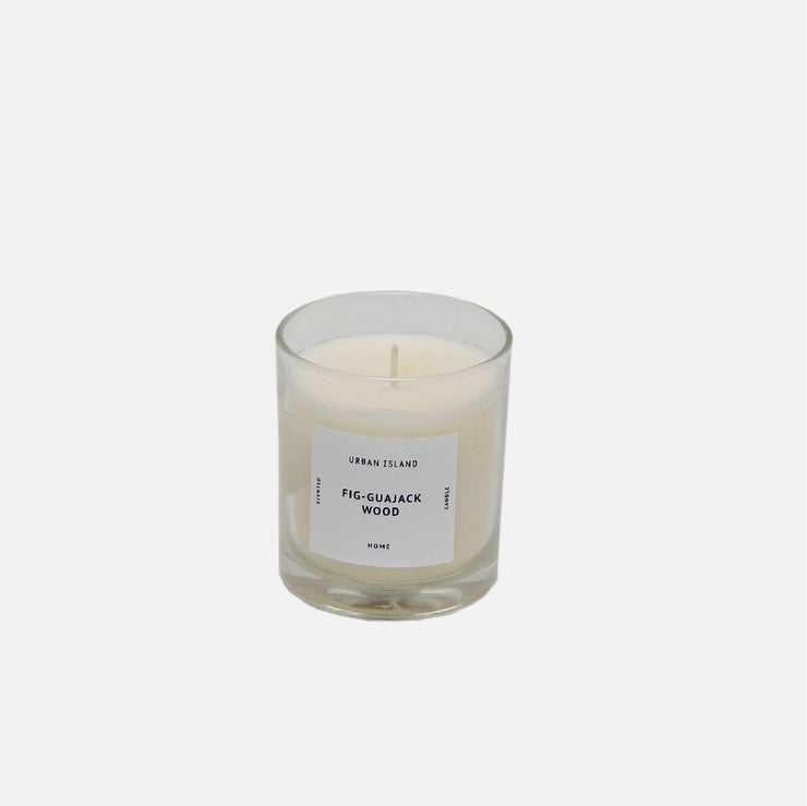 Scented Candle -  Fig - Guajack Wood