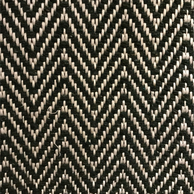 Rug Chevron - Black and White