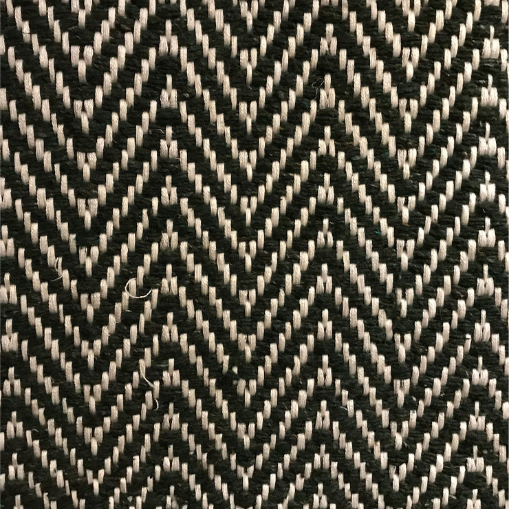 Rug Chevron - Black and White - Pre Order