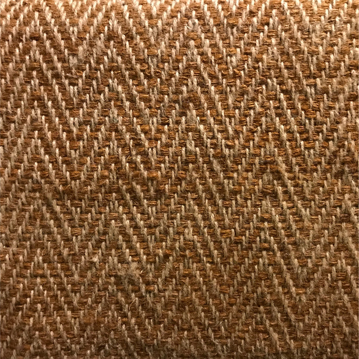 Rug Chevron Rust and Ecru - Pre Order