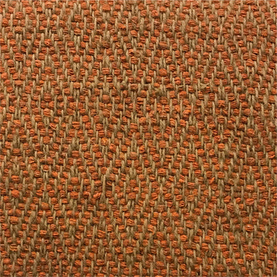Rug Diamond Orange and Natural
