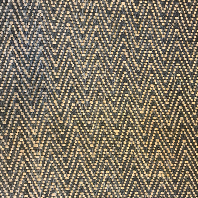 Rug Chevron Black and Natural