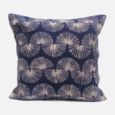 Fan Navy Cushion Cover