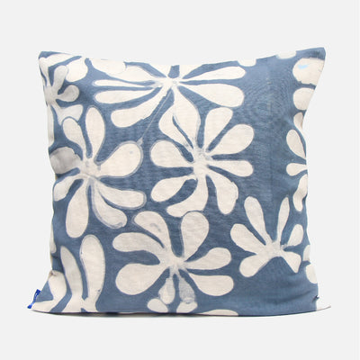 Araliya Denim Wash Cushion Cover