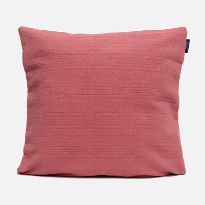 Weave Dusty Pink Solid Dyed Cushion