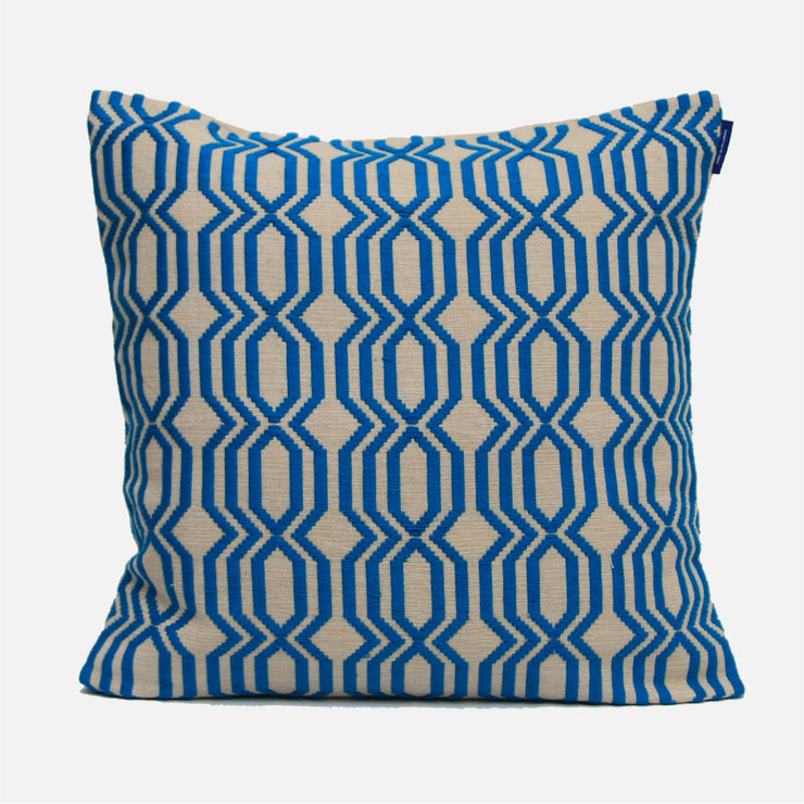 Lattic Rata Turquoise Cushion Cover