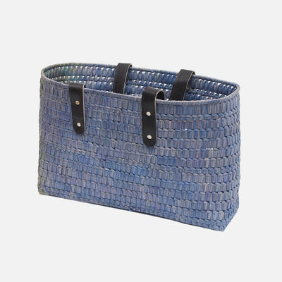 Palmyra Kopay Beach Basket Denim Wash