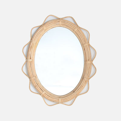 Lotus Mirror Oval