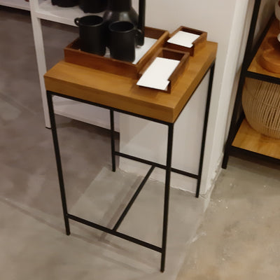 Cinnamon Side Table - Black