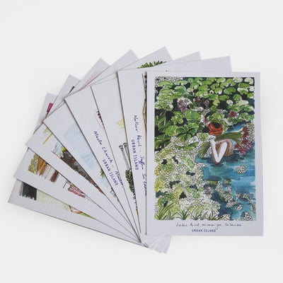 'Colour Me Sri Lanka' Postcard Set